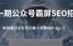 郭啸天·公众号霸屏SEO特训营(无水印)
