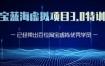 黄岛主·淘宝蓝海虚拟项目3.0,价值1688元
