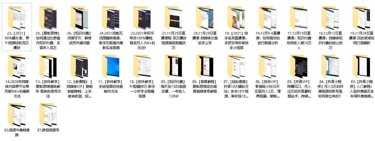 聚蚁思维高级合伙人vip会员课程合集【2021】插图(4)